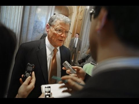James Inhofe Rejects Global Warming Hypothesis