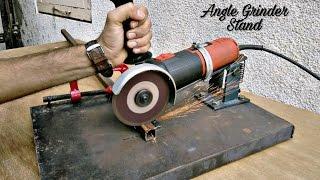 Homemade Angle Grinder Stand / Angle Grinder Support..