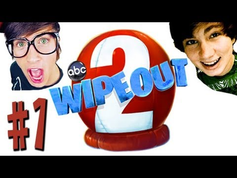 Wipeout 2  - #1 - Joey Graceffa Adorian Deck - Xbox 360 Kinect