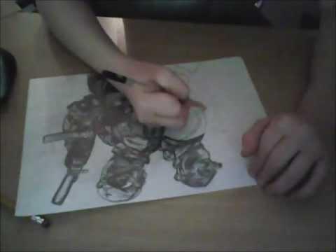 Splinter Cell Convitction drawing