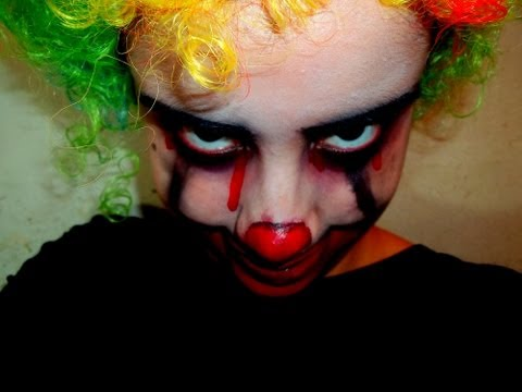 » Maquillaje de payaso - Killer clown makeup tutorial | Entrada a mi disfraz de