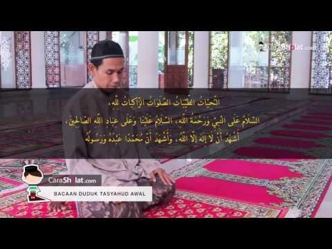 39. Tutorial Cara Solat Nabi: Bacaan Duduk Tasyahud Awal - CaraSholat.com