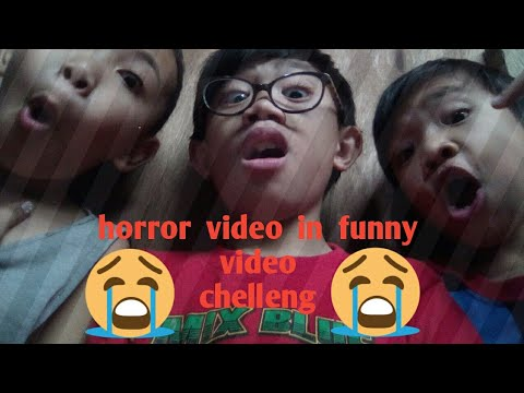 Funny video in horror video challenge