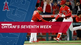 Shohei Ohtani's 7th week of the 2018 season