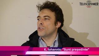 Prima declarație a lui Klaus Iohanis