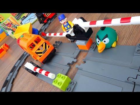 Машинки игрушки Лего Поезда мультики Город машинок 276: Граница. Мультики для детей про Машинки