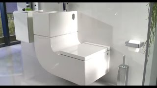 Roca W+W Integrated Washbasin (Washbasin + Watercloset)