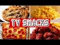 6 Snacks For Binge Watching TV