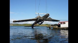 Rescue of a Heinkel  HE-115. ( AWESOME )