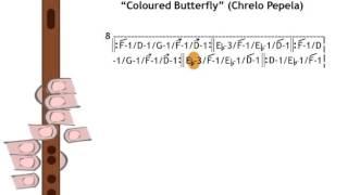 """""""ჭრელო პეპელა"""" / """"Coloured Butterfly"""" (Chrelo Pepela)"""