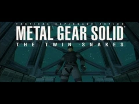 Metal Gear Solid: The Twin Snakes - Magazine cover