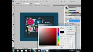 PHOTOSHOP BANGLA TUTORIAL PART-18(COVER PAGE)