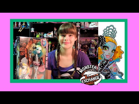 Monster High Monster Exchange Lagoona Blue Doll Review