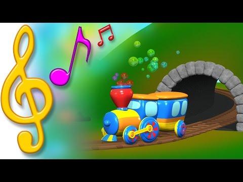 TuTiTu Songs | Train Song | Songs for Children with Lyrics