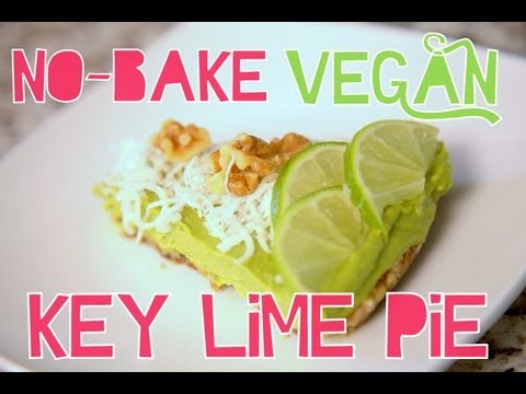 No-Bake Vegan Key Lime Pie | Cheap Clean Eats
