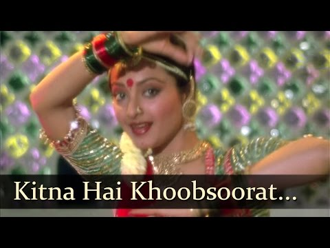 Kitna Hai Khoobsoorat - Mujra - Rekha - Vikram - Daasi - Old Bollywood Songs - Ravindra Jain video