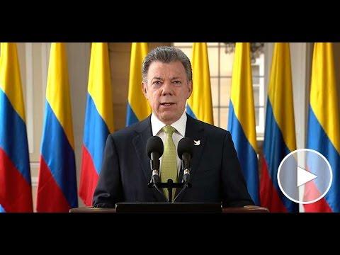Alocución del Presidente de la República, Juan Manuel Santos - 30 de marzo de 2016