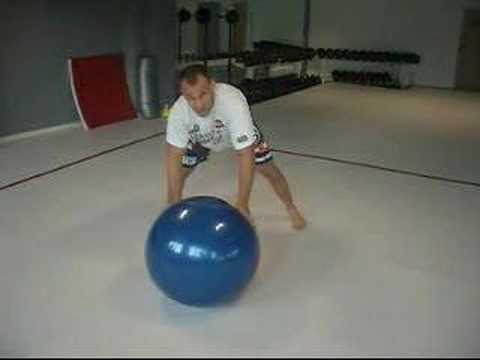 big ball training for grappling and mma Image 1