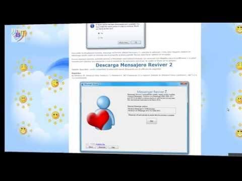 Recuperación de MSN Live - Mensajero Reviver 2 . Gratis en Español