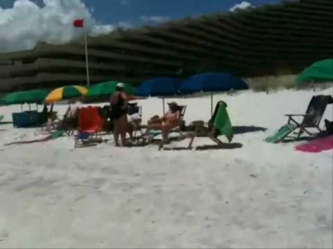 destin florida oil spill update gulf oil spill beach condition.wmv