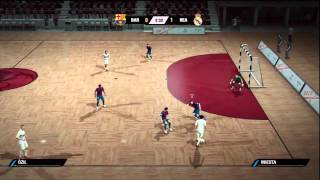 FIFA STREET 4 - FUTSAL BARCELONA VS REAL MADRID