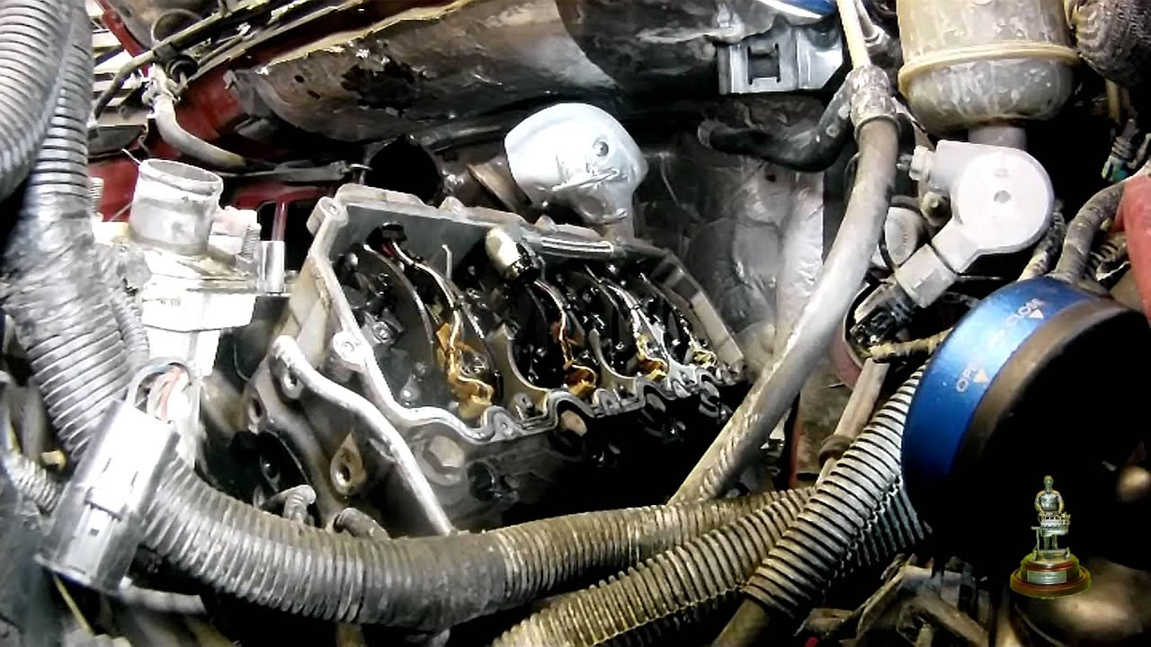 2003 6 0 Liter Ford Powerstroke Cylinder Head Removal