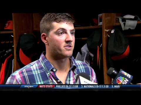 Kevin Gausman explains how O's pitchers are fans of each other