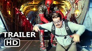 """DEADPOOL 2 """"Invisible Guy & Peter Skydiving"""" Clip (NEW 2018) Superhero Movie HD"""