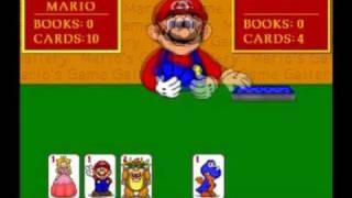 Mario can 39 t play go fish game walkthrough for Mario go fish