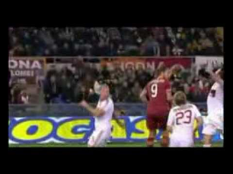 Roma 4-2 Milan All Goals & Highlights 22/12/2012
