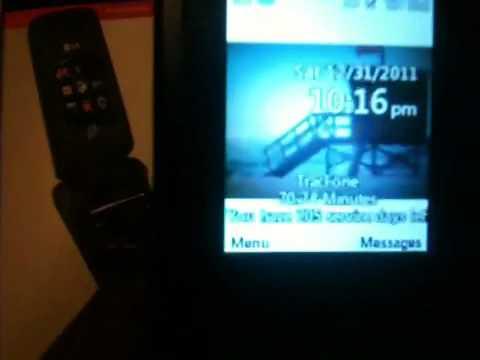 LG LG420G TRACFONE Trick