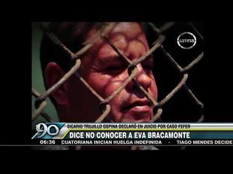 Caso Myriam Fefer: Sicario colombiano exculpa a Eva Bracamonte del crimen de su madre