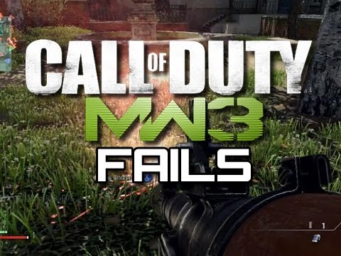 Funny MW3 Fails #5 - Snipers, Shotguns, and More! (Funny MW3 Moments)