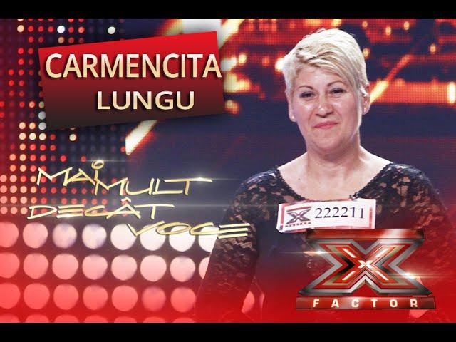 """Narcisa Suciu - """"Poate eu, poate tu""""! Interpretarea Carmencitei Lungu, la X Factor!"""