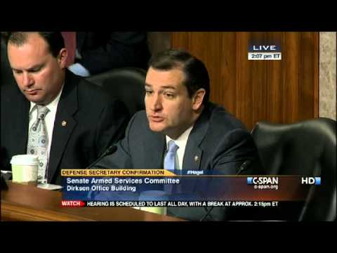 Sen. Ted Cruz Dissects Chuck Hagel with America