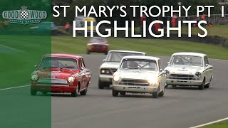 St. Mary's Trophy Part 1 Highlights | Goodwood Revival 2018