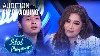 Clyde Aquino - Malaya   Idol Philippines 2019 Auditions