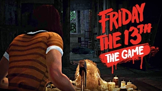 Friday the 13th: The Game - The Stupidest Way To Survive!! (Beta)