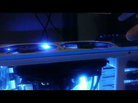 Updated Video: NZXT Phantom with Corsair H100 in Push Pull Configuration