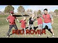 RED ROVER Challenge on a Road Trip!