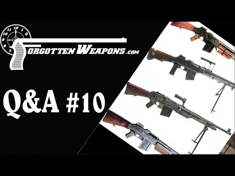 Q&A #10: Collectible Surplus Guns. Dumb US Decisions. and Lots of French Stuff