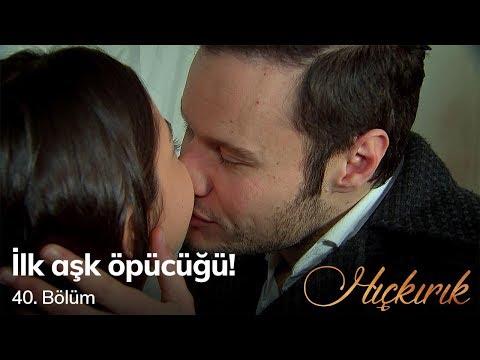 İlk aşk öpücüğü! Hıçkırık 40. Bölüm