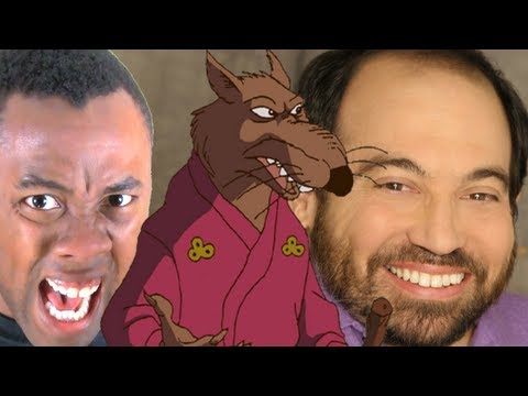NINJA TURTLES SPLINTER is DANNY WOODBURN?? - Black Nerd Rants
