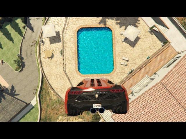 GTA 5 Crazy Jumps/Falls Compilation #13 (GTA 5 Ragdolls Fails Funny Moments)
