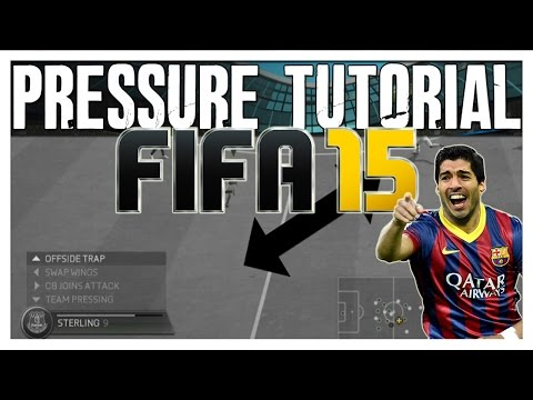 Fifa 15 Pressure Tutorial   How To Offside Trap (stop Possession Players)   The Best Fifa Guide video