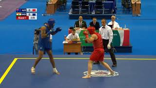 Rajinder singh won fight in 14th world wushu championship kazaan russia