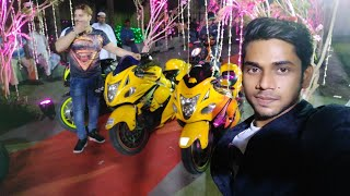 Crowd Gone Crazy After Superbikes Loud revving in the Wedding ceremony