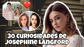 "30 CURIOSIDADES de JOSEPHINE LANGFORD (From ""AFTER"") 