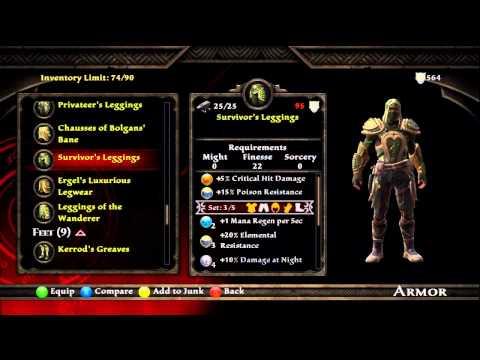 "Kingdoms of Amalur: Survivor (Finesse). Castaway (Might). & ""Pestilent ..."