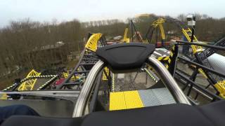 Lost Gravity | Walibi Holland | Onride POV (4K)